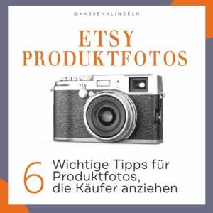 6 Tipps für Etsy Verkäufer für Produktfotos die konvertieren