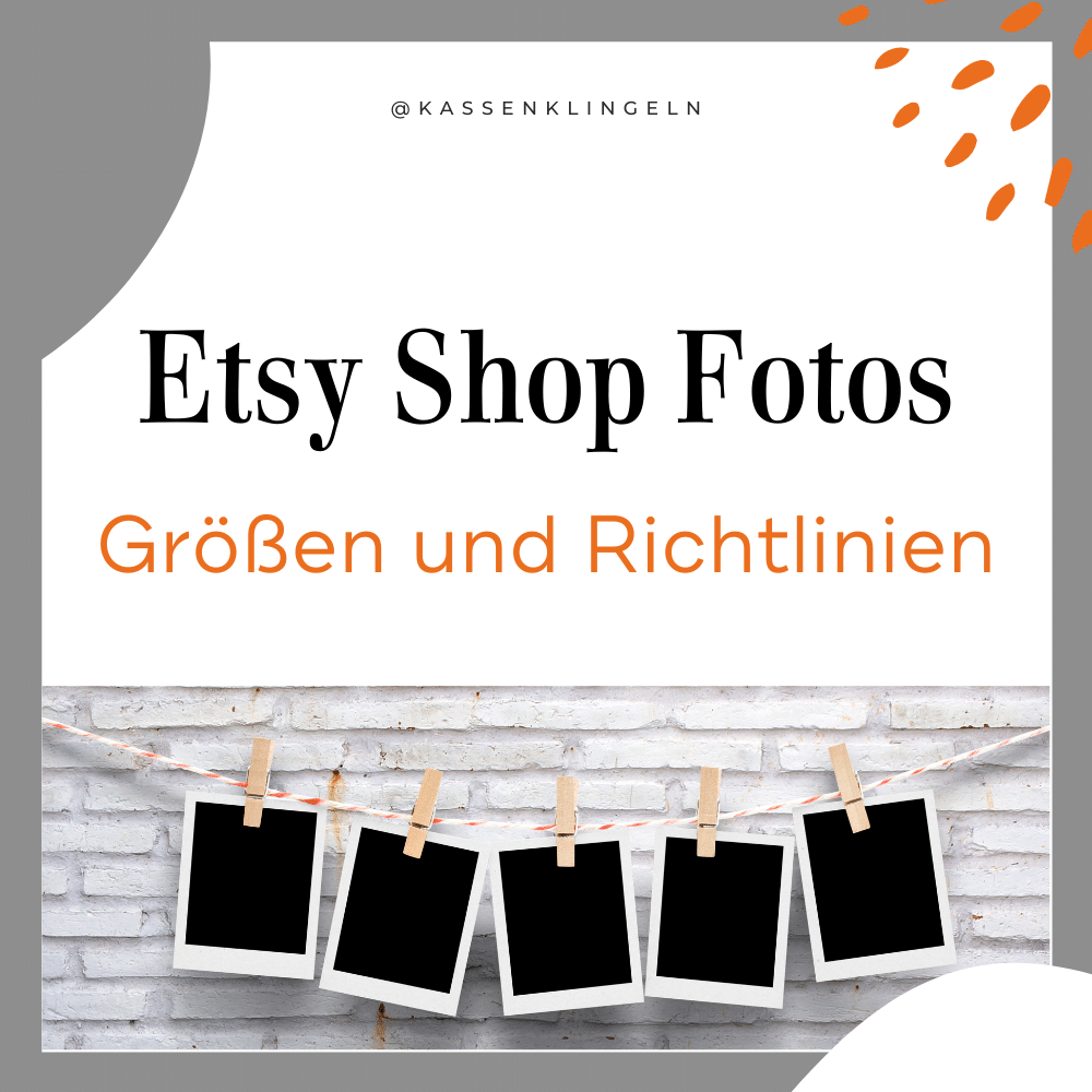 Etsy Shop Fotos - groessen und Richtlinien