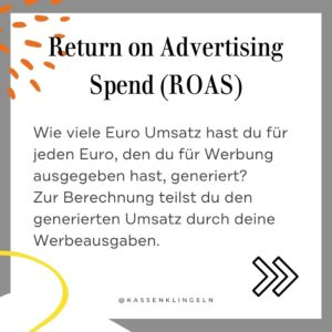 Wichtige Marketingbegriffe für Etsy Verkäufer ROAS