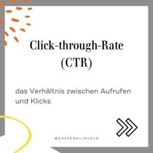 Wichtige Marketingbegriffe für Etsy Verkäufer CTR