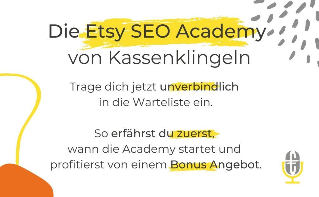 Etsy SEO Academy
