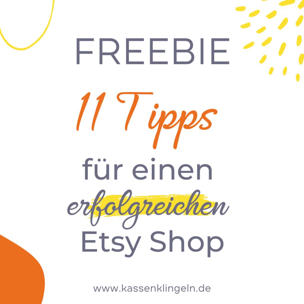 11 Tipp für erfolgreiche Etsy Verkäufer