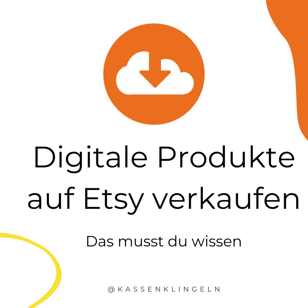 Digitale Produkte auf Etsy Verkaufen
