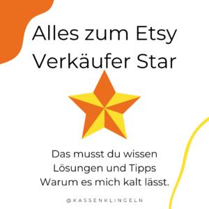 Etsy Verkäufer Star tipps